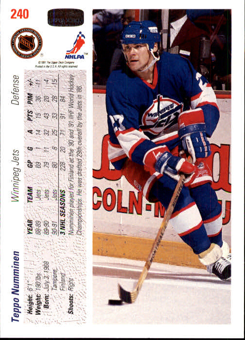1991-92-Upper-Deck-Hockey-s-1-250-Rookies-You-Pick-Buy-10-cards-FREE-SHIP thumbnail 480