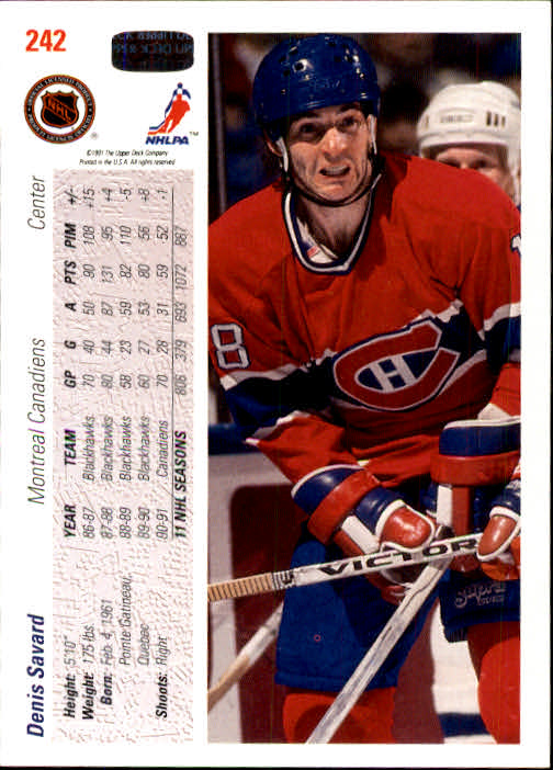 1991-92-Upper-Deck-Hockey-s-1-250-Rookies-You-Pick-Buy-10-cards-FREE-SHIP thumbnail 484