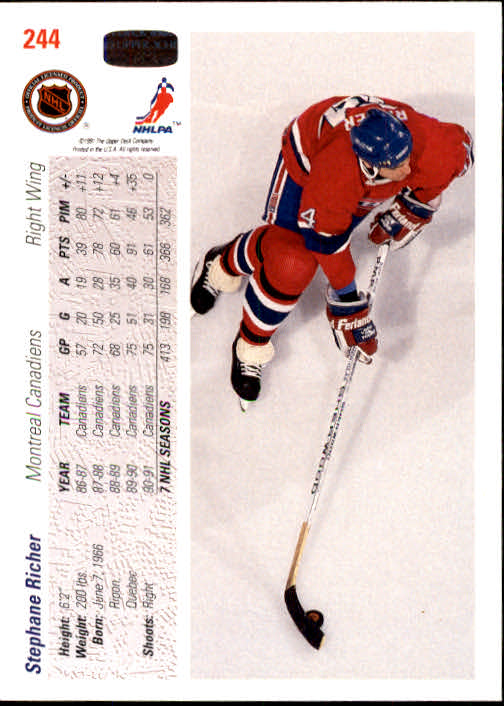 1991-92-Upper-Deck-Hockey-s-1-250-Rookies-You-Pick-Buy-10-cards-FREE-SHIP thumbnail 488
