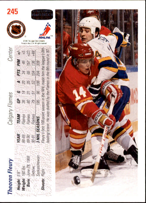 1991-92-Upper-Deck-Hockey-s-1-250-Rookies-You-Pick-Buy-10-cards-FREE-SHIP thumbnail 490