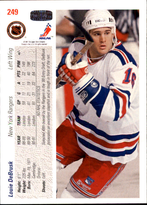 1991-92-Upper-Deck-Hockey-s-1-250-Rookies-You-Pick-Buy-10-cards-FREE-SHIP thumbnail 498