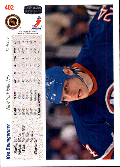 1991-92-Upper-Deck-Hk-039-s-251-500-Rookies-You-Pick-Buy-10-cards-FREE-SHIP thumbnail 296