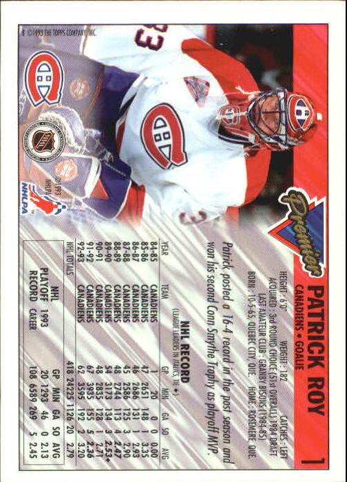 1993-94-Topps-Premier-Hk-s-1-250-Rookies-You-Pick-Buy-10-cards-FREE-SHIP thumbnail 3