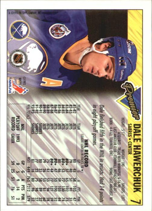 1993-94-Topps-Premier-Hk-s-1-250-Rookies-You-Pick-Buy-10-cards-FREE-SHIP thumbnail 15