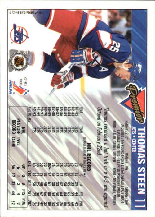 1993-94-Topps-Premier-Hk-s-1-250-Rookies-You-Pick-Buy-10-cards-FREE-SHIP thumbnail 23
