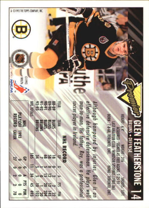 1993-94-Topps-Premier-Hk-s-1-250-Rookies-You-Pick-Buy-10-cards-FREE-SHIP thumbnail 29