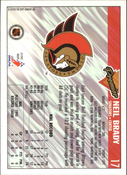 1993-94-Topps-Premier-Hk-s-1-250-Rookies-You-Pick-Buy-10-cards-FREE-SHIP thumbnail 35