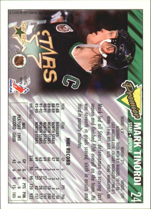 1993-94-Topps-Premier-Hk-s-1-250-Rookies-You-Pick-Buy-10-cards-FREE-SHIP thumbnail 49