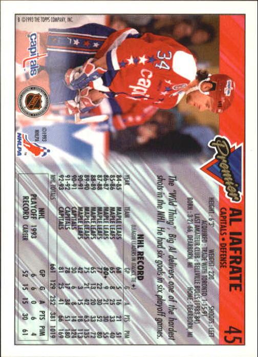 1993-94-Topps-Premier-Hk-s-1-250-Rookies-You-Pick-Buy-10-cards-FREE-SHIP thumbnail 89