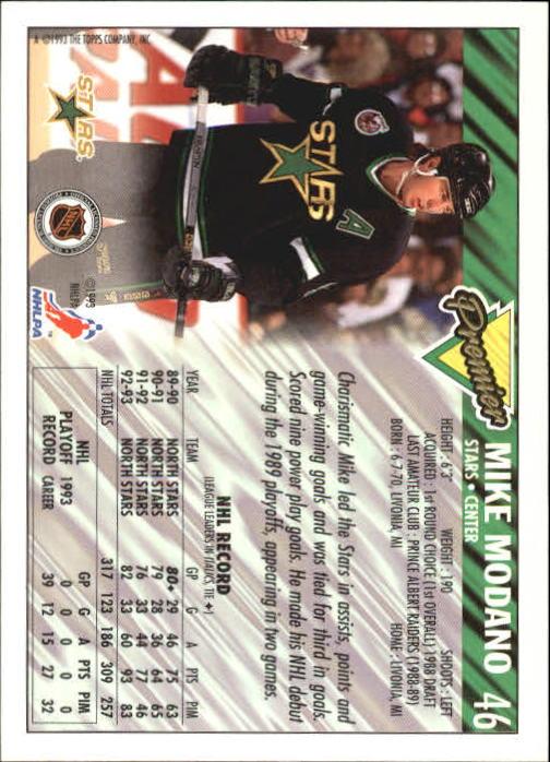 1993-94-Topps-Premier-Hk-s-1-250-Rookies-You-Pick-Buy-10-cards-FREE-SHIP thumbnail 91