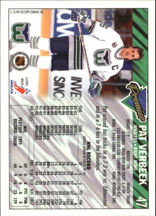 1993-94-Topps-Premier-Hk-s-1-250-Rookies-You-Pick-Buy-10-cards-FREE-SHIP thumbnail 93