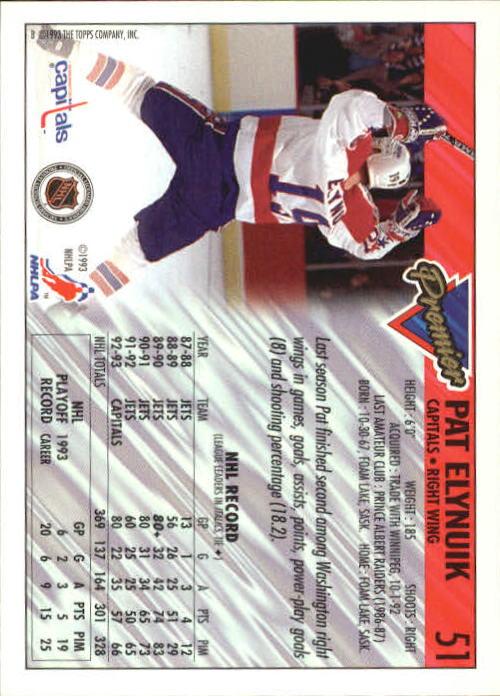 1993-94-Topps-Premier-Hk-s-1-250-Rookies-You-Pick-Buy-10-cards-FREE-SHIP thumbnail 101