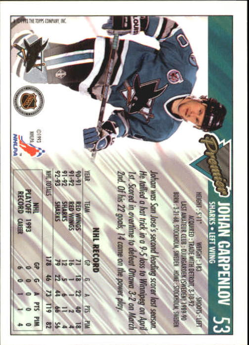 1993-94-Topps-Premier-Hk-s-1-250-Rookies-You-Pick-Buy-10-cards-FREE-SHIP thumbnail 105