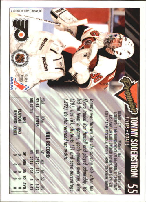 1993-94-Topps-Premier-Hk-s-1-250-Rookies-You-Pick-Buy-10-cards-FREE-SHIP thumbnail 109