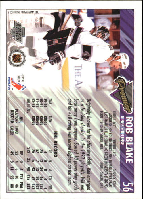 1993-94-Topps-Premier-Hk-s-1-250-Rookies-You-Pick-Buy-10-cards-FREE-SHIP thumbnail 111