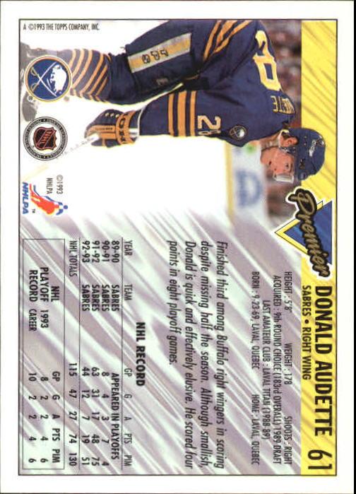 1993-94-Topps-Premier-Hk-s-1-250-Rookies-You-Pick-Buy-10-cards-FREE-SHIP thumbnail 118