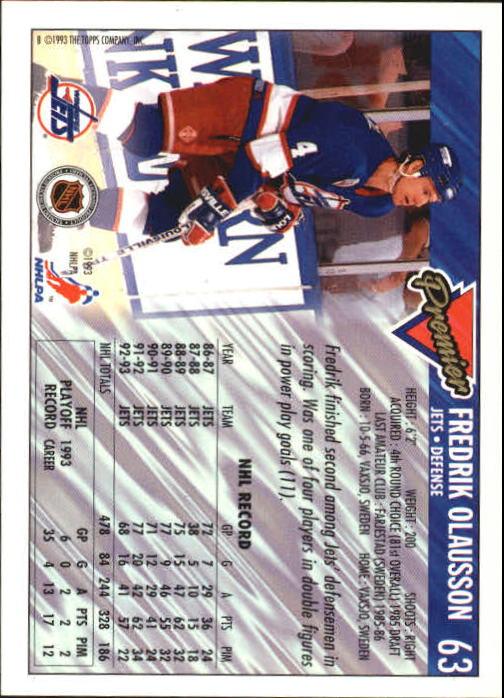 1993-94-Topps-Premier-Hk-s-1-250-Rookies-You-Pick-Buy-10-cards-FREE-SHIP thumbnail 121