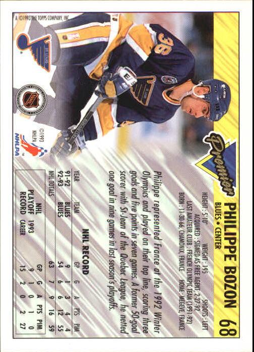 1993-94-Topps-Premier-Hk-s-1-250-Rookies-You-Pick-Buy-10-cards-FREE-SHIP thumbnail 131