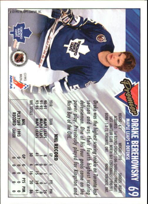 1993-94-Topps-Premier-Hk-s-1-250-Rookies-You-Pick-Buy-10-cards-FREE-SHIP thumbnail 133