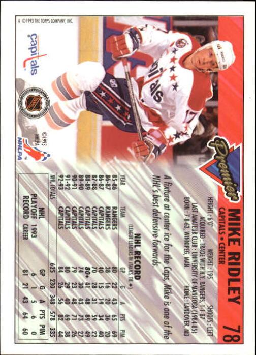1993-94-Topps-Premier-Hk-s-1-250-Rookies-You-Pick-Buy-10-cards-FREE-SHIP thumbnail 150