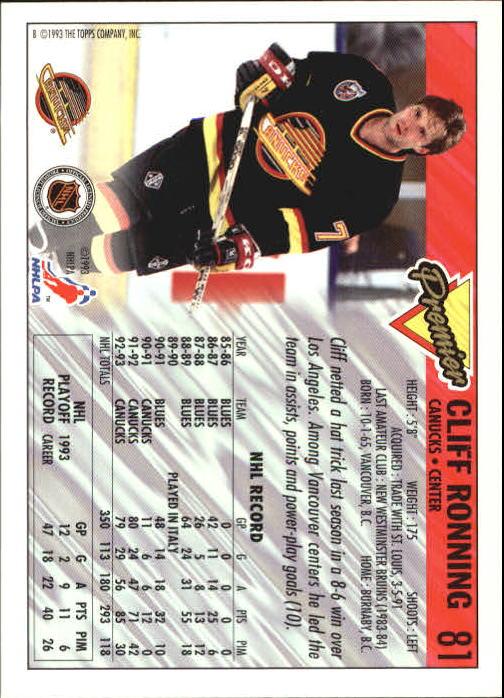 1993-94-Topps-Premier-Hk-s-1-250-Rookies-You-Pick-Buy-10-cards-FREE-SHIP thumbnail 156