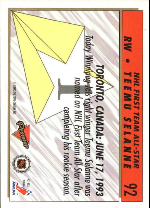 1993-94-Topps-Premier-Hk-s-1-250-Rookies-You-Pick-Buy-10-cards-FREE-SHIP thumbnail 176
