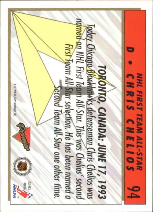 1993-94-Topps-Premier-Hk-s-1-250-Rookies-You-Pick-Buy-10-cards-FREE-SHIP thumbnail 180