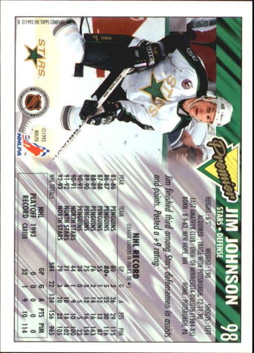 1993-94-Topps-Premier-Hk-s-1-250-Rookies-You-Pick-Buy-10-cards-FREE-SHIP thumbnail 186