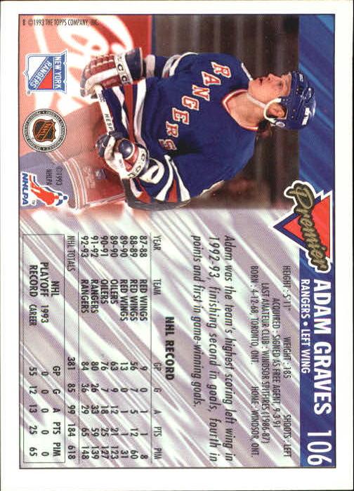 1993-94-Topps-Premier-Hk-s-1-250-Rookies-You-Pick-Buy-10-cards-FREE-SHIP thumbnail 201