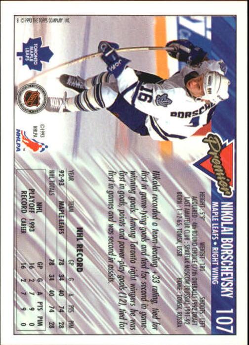 1993-94-Topps-Premier-Hk-s-1-250-Rookies-You-Pick-Buy-10-cards-FREE-SHIP thumbnail 203