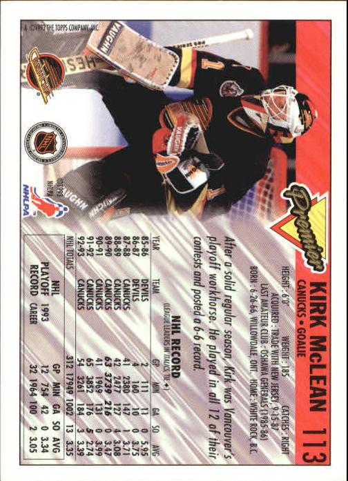 1993-94-Topps-Premier-Hk-s-1-250-Rookies-You-Pick-Buy-10-cards-FREE-SHIP thumbnail 214