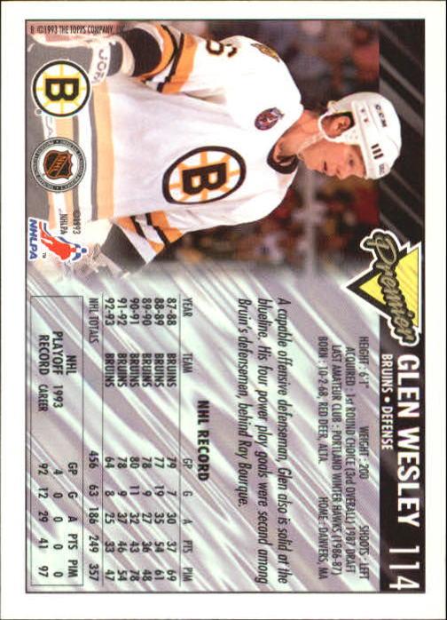 1993-94-Topps-Premier-Hk-s-1-250-Rookies-You-Pick-Buy-10-cards-FREE-SHIP thumbnail 216