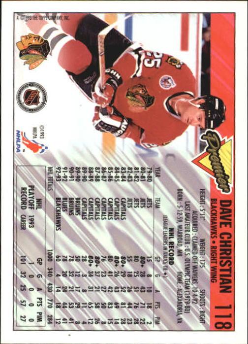 1993-94-Topps-Premier-Hk-s-1-250-Rookies-You-Pick-Buy-10-cards-FREE-SHIP thumbnail 224