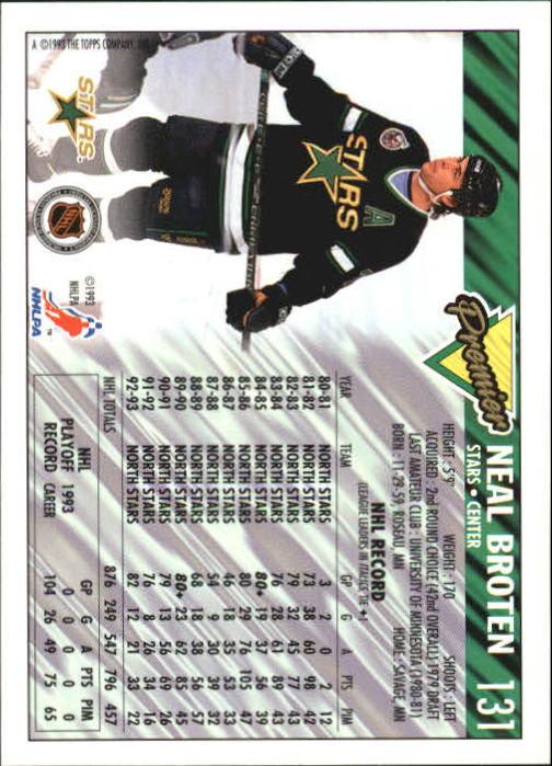 1993-94-Topps-Premier-Hk-s-1-250-Rookies-You-Pick-Buy-10-cards-FREE-SHIP thumbnail 248
