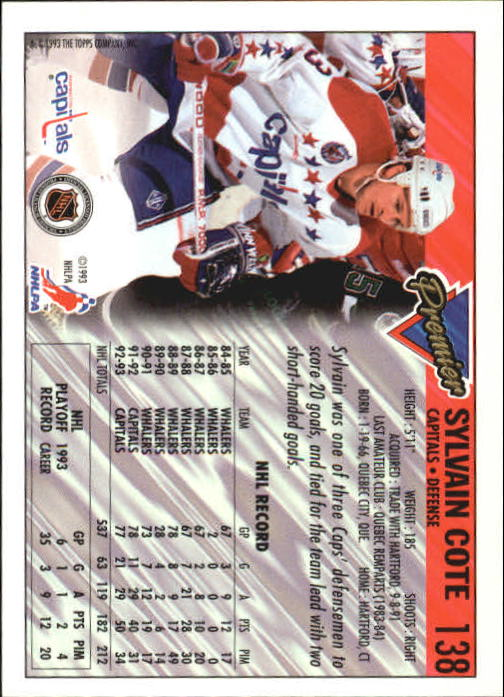 1993-94-Topps-Premier-Hk-s-1-250-Rookies-You-Pick-Buy-10-cards-FREE-SHIP thumbnail 261