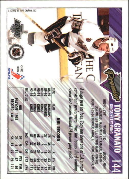 1993-94-Topps-Premier-Hk-s-1-250-Rookies-You-Pick-Buy-10-cards-FREE-SHIP thumbnail 273