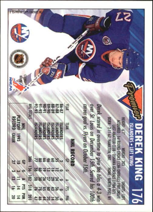 1993-94-Topps-Premier-Hk-s-1-250-Rookies-You-Pick-Buy-10-cards-FREE-SHIP thumbnail 331