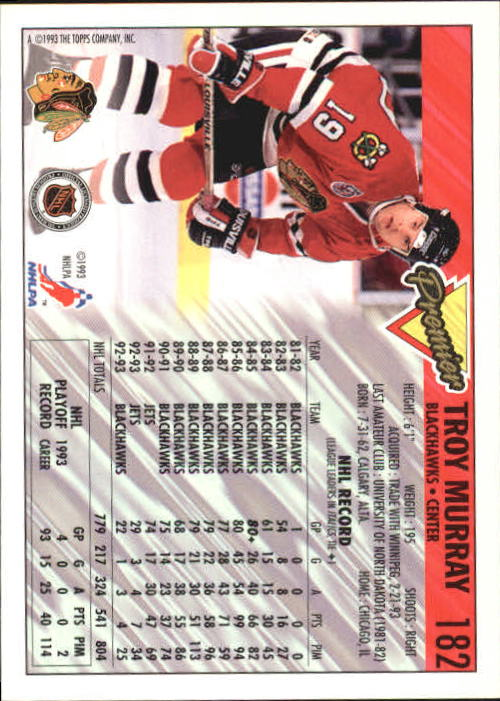 1993-94-Topps-Premier-Hk-s-1-250-Rookies-You-Pick-Buy-10-cards-FREE-SHIP thumbnail 342