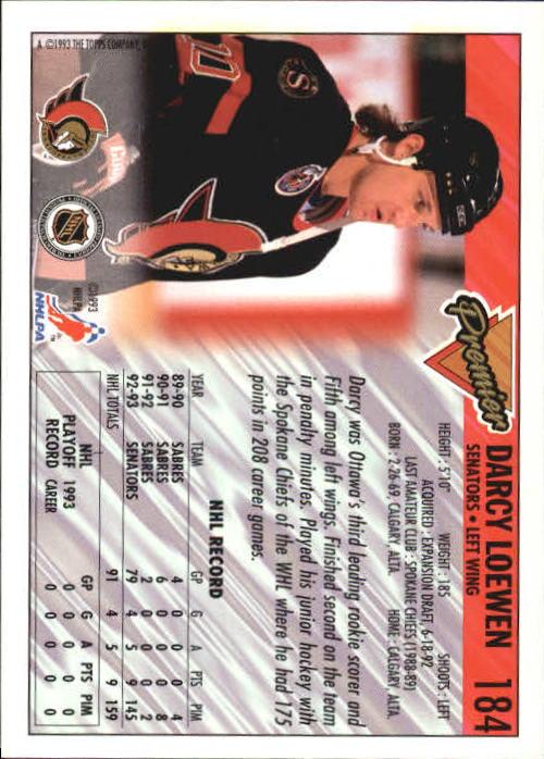 1993-94-Topps-Premier-Hk-s-1-250-Rookies-You-Pick-Buy-10-cards-FREE-SHIP thumbnail 346