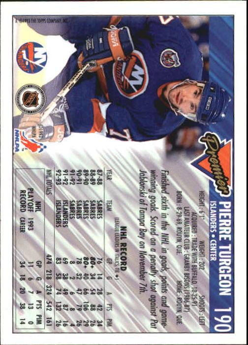1993-94-Topps-Premier-Hk-s-1-250-Rookies-You-Pick-Buy-10-cards-FREE-SHIP thumbnail 358