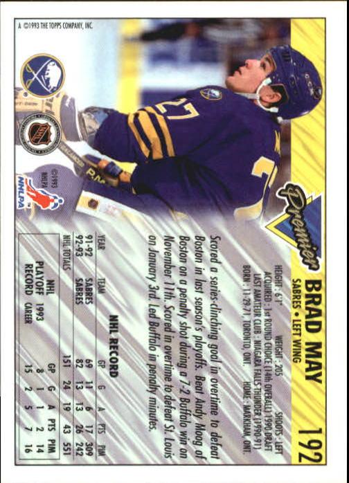 1993-94-Topps-Premier-Hk-s-1-250-Rookies-You-Pick-Buy-10-cards-FREE-SHIP thumbnail 362