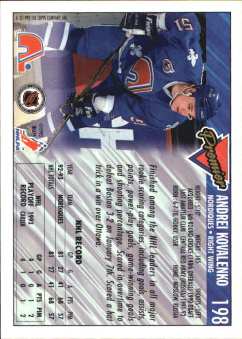 1993-94-Topps-Premier-Hk-s-1-250-Rookies-You-Pick-Buy-10-cards-FREE-SHIP thumbnail 373