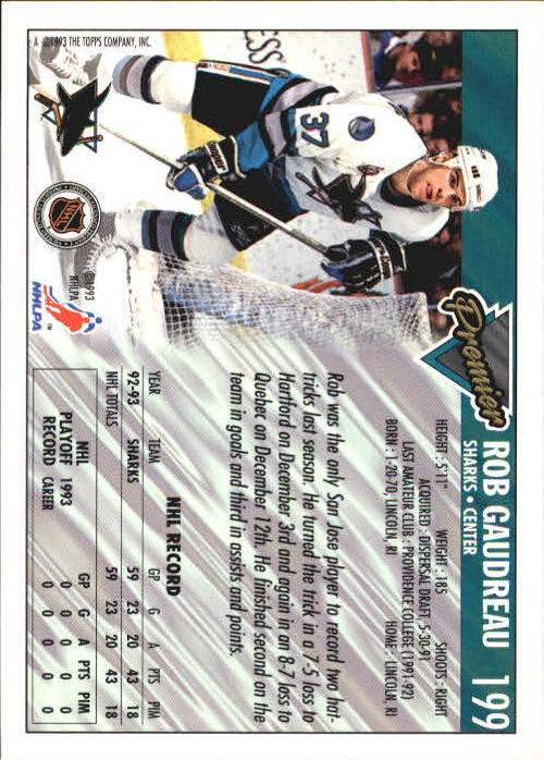 1993-94-Topps-Premier-Hk-s-1-250-Rookies-You-Pick-Buy-10-cards-FREE-SHIP thumbnail 375