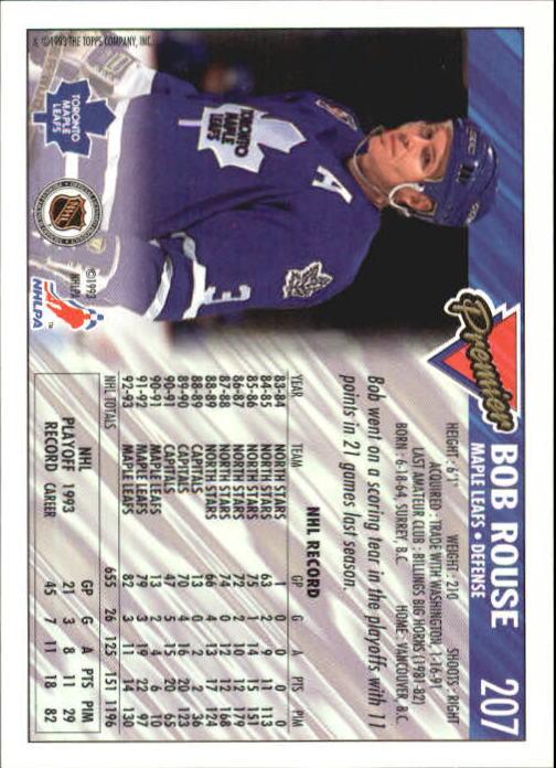 1993-94-Topps-Premier-Hk-s-1-250-Rookies-You-Pick-Buy-10-cards-FREE-SHIP thumbnail 389
