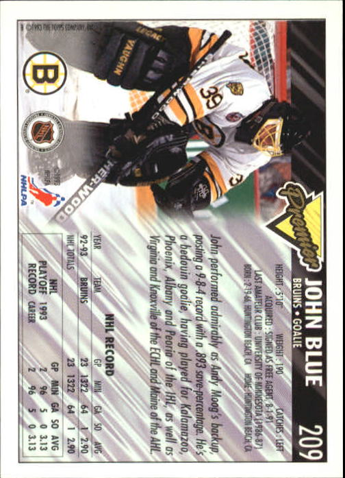 1993-94-Topps-Premier-Hk-s-1-250-Rookies-You-Pick-Buy-10-cards-FREE-SHIP thumbnail 393