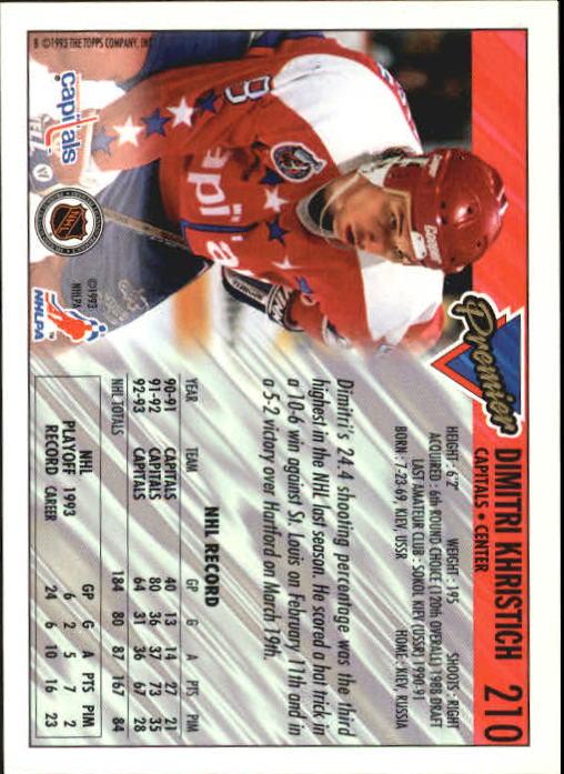 1993-94-Topps-Premier-Hk-s-1-250-Rookies-You-Pick-Buy-10-cards-FREE-SHIP thumbnail 395