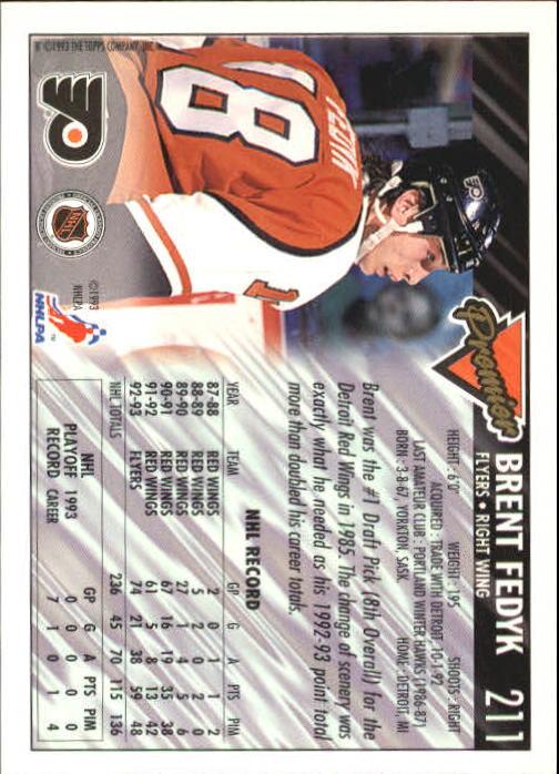 1993-94-Topps-Premier-Hk-s-1-250-Rookies-You-Pick-Buy-10-cards-FREE-SHIP thumbnail 397