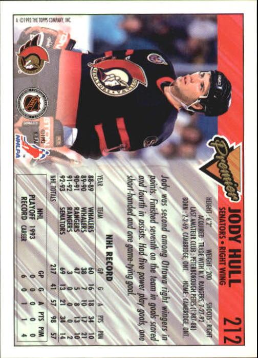 1993-94-Topps-Premier-Hk-s-1-250-Rookies-You-Pick-Buy-10-cards-FREE-SHIP thumbnail 399