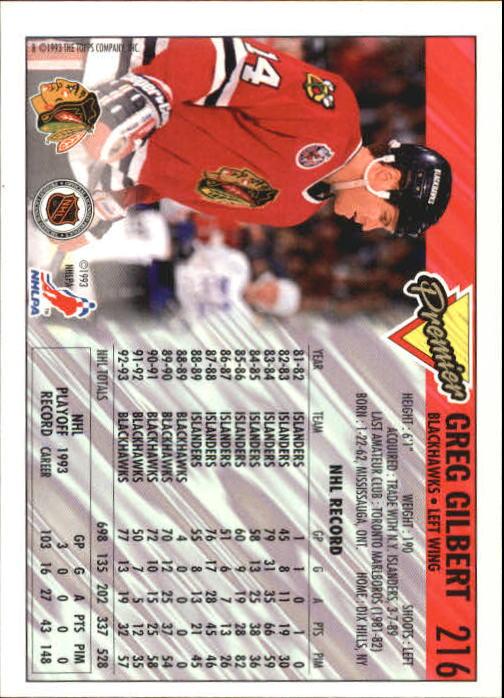 1993-94-Topps-Premier-Hk-s-1-250-Rookies-You-Pick-Buy-10-cards-FREE-SHIP thumbnail 406