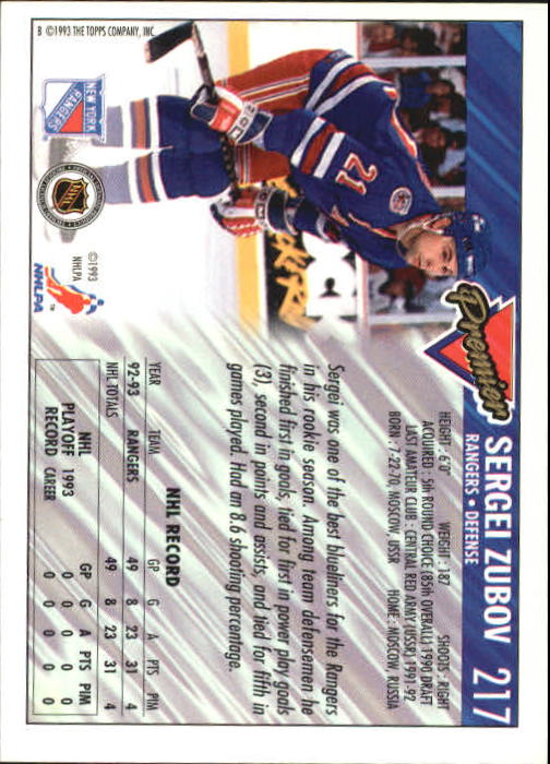 1993-94-Topps-Premier-Hk-s-1-250-Rookies-You-Pick-Buy-10-cards-FREE-SHIP thumbnail 408